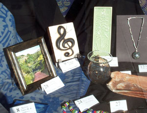 Items available at the Friends' 2008 Silent Auction